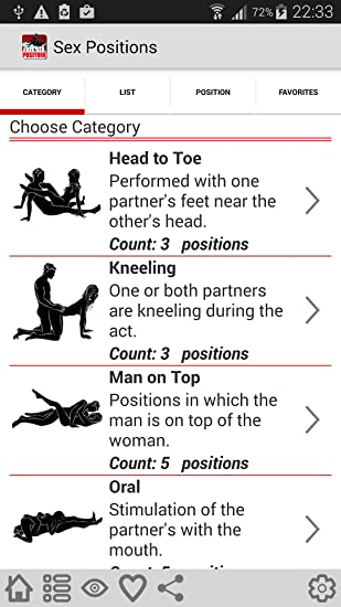Sex positions with names