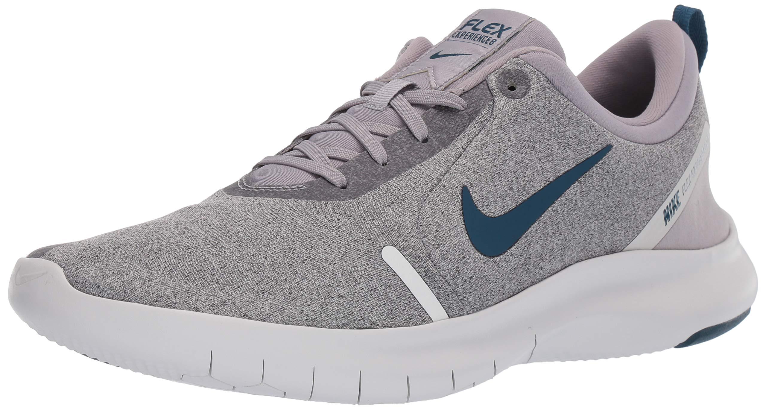 Nike Men's Flex Experience Run 8 Shoe, Atmosphere Grey/Blue Force-Off Noir, 7 4E US