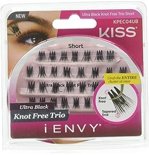 b1ae04fe984 Amazon.com : Kiss I Envy Knot Free Trio Medium Ultra Black : Beauty