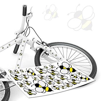 Style4bike Fahrradaufkleber Hummel Biene Bienen Wespe