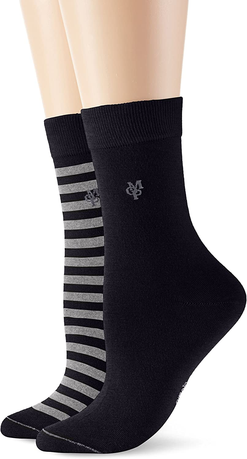 Marc OPolo Body & Beach 155686 Socks Women (2-Pack), Calcetines ...