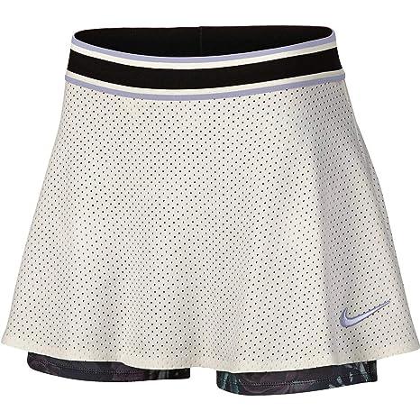 Nike W Nkct Skirt ESS Pr Falda, Mujer, Sail/Oxygen Purple, M ...