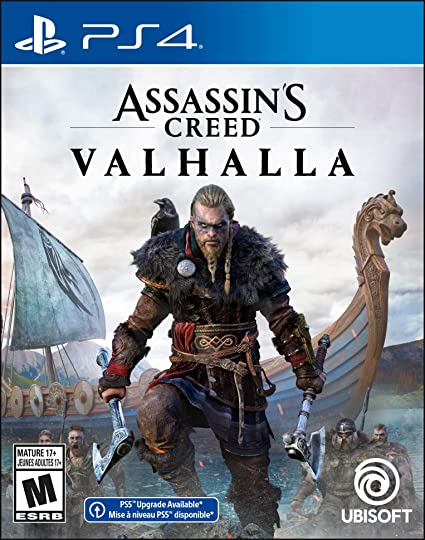 Assassin's Creed Valhalla - PlayStation 4 Edition: PlayStation 4: Computer  and Video Games - Amazon.ca