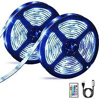 OMERIL Tira LED RGB 6M Impermeable, Tiras LED