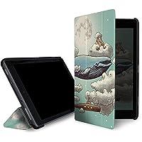 caseable Fire 7 - custodia (tablet 7 pollici, settima generazione - 2017)  la custodia standing e leggera per il nuovo tablet Amazon Fire 7 con l'elegantissimo design: Ocean meets sky