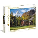 Clementoni High Quality Collection Puzzle Fascination with Matterhorn, 1500 Pezzi, 32561