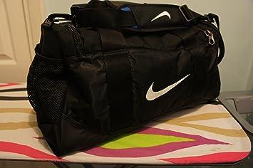Nike Kids Team Training Duffel Bag - Black Black White 259ea1cafc23d