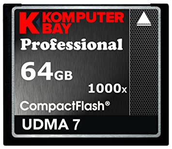 Amazon.com: Komputerbay 64 GB Professional Compact Flash ...