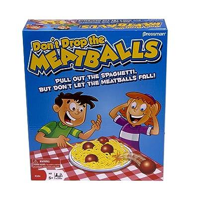 Pressman Don't Drop The Meatballs: Toys & Games