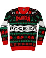 Slayer Pentagram Skulls Adult Christmas Sweater At Amazon Men S