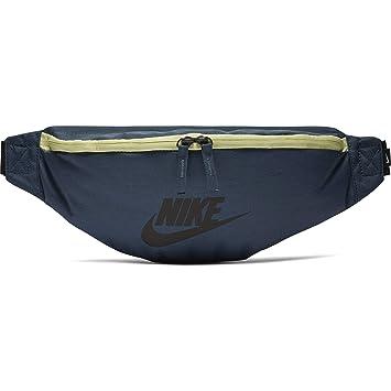 c8ee28475ddc32 Nike Unisex – Erwachsene NK Heritage HIP Pack Turnbeutel Monsoon Blue Black