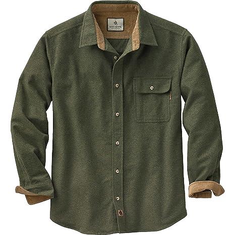 a62aeadd3f26 Amazon.com  Legendary Whitetails Men s Buck Camp Flannel Shirt ...