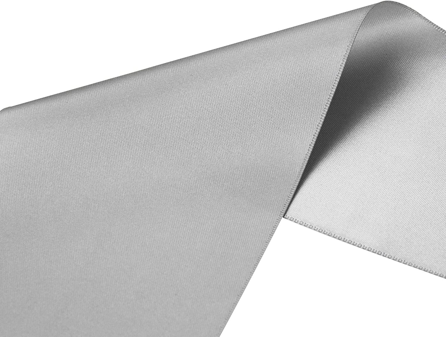 Perfect for Chair Sash VATIN 4 Wide Double Faced Polyester White Satin Ribbon- 5 Yard//Spool Making Bow Sewing and Wedding Bouquet