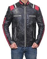 Decrum Mens Premium Quality Leather Jackets and Coat