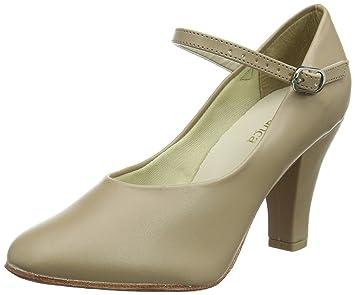 So Danca Ch53, Zapatos de Tap para Mujer, Beige (Tan), 40 EU