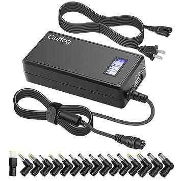 Amazon.com: [Voltaje: Versátil + 5 V USB] Outtag 65 W 15 V ...