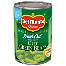 Del Monte Canned Fresh Cut Blue Lake Green Beans, 14.5-Ounce Cans (Pack of 12)