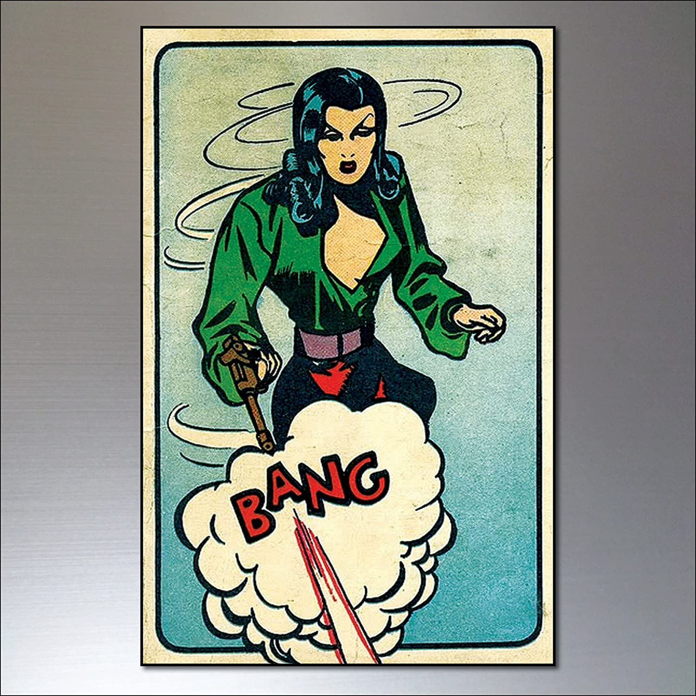9 Funny Fridge Magnets Vintage Retro Comic Strip Fridge Magnets Funny Quotes
