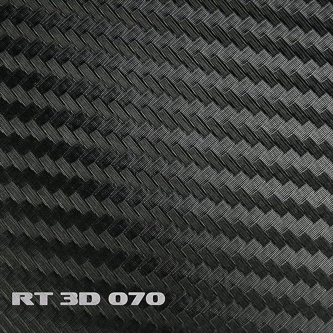 Rapid Teck 5 92 M 3d Carbon Autofolie Schwarz 2m X 1 52m Flexieble Car Wrapping Folie Mit Luftkanälen Auto