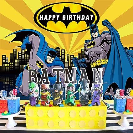 Batman telón de Fondo, superhéroe, para niño, cumpleaños ...