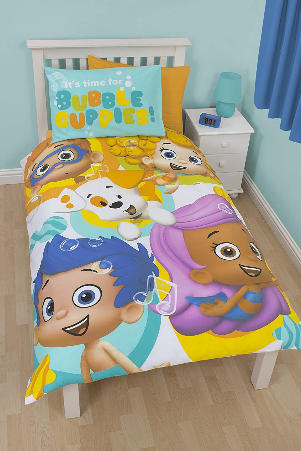 Great Character Bubble Guppies Splash Panel Single Duvet Cover: Amazon.ca: Home U0026  Kitchen