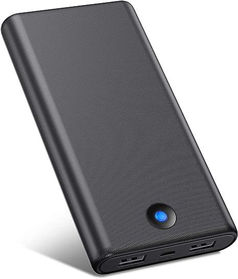 VOOE Batería Externa Móvil Power Bank 25800mAh [Diseño Anti-Huella ...