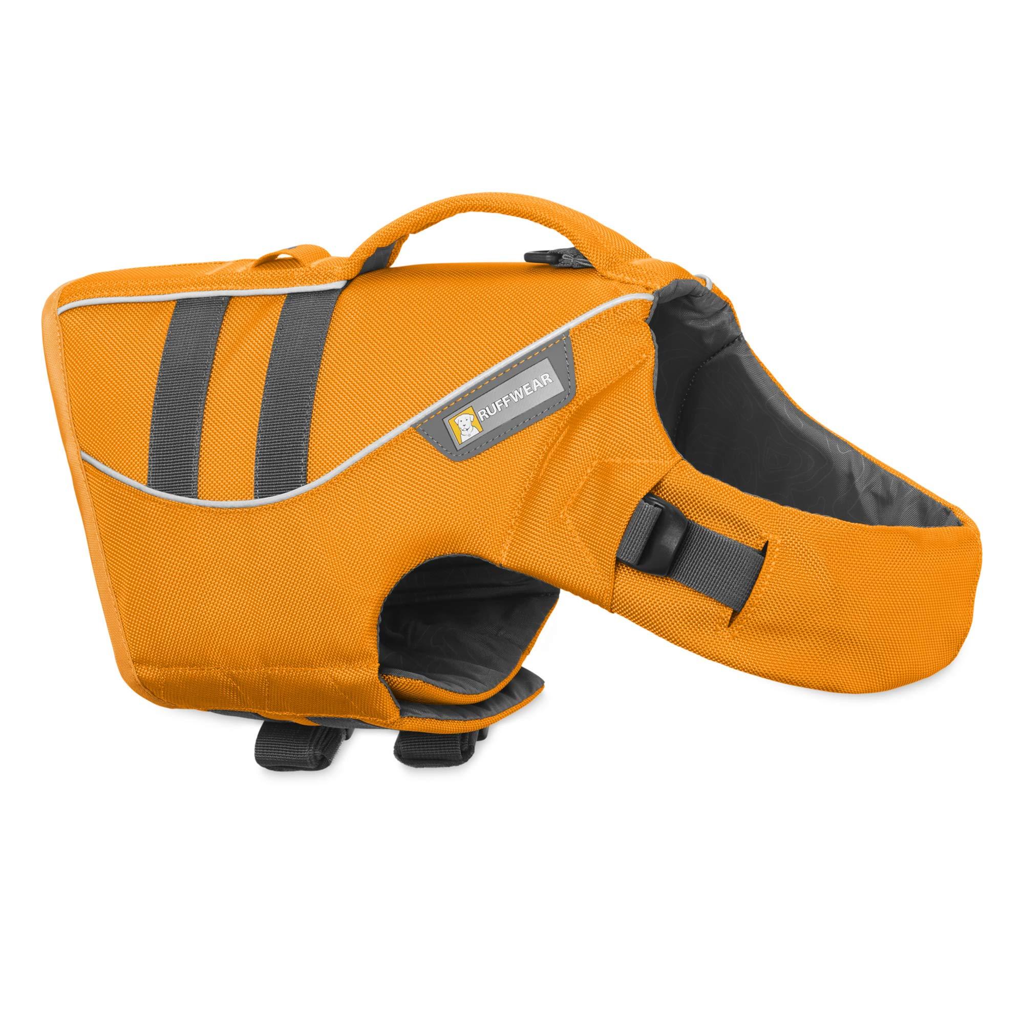RUFFWEAR - Float Coat Dog Life Jacket for Swimming, Adjustable and Reflective, Wave Orange, X-Large by RUFFWEAR