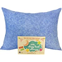 "Toddler Pillowcase - Made for Little Sleepy Head Toddler Pillow 13 X 18 - 100% Cotton - Naturally Hypoallergenic - Made in USA! (Blue, 13""x18"")"