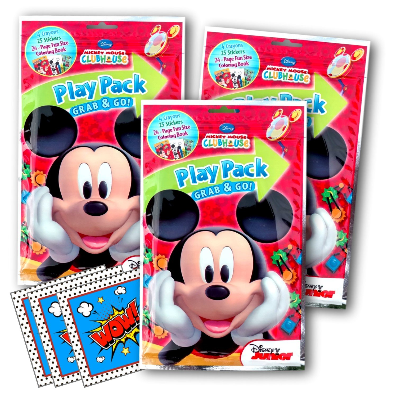 Party Supplies Coloring Books Daniel Tiger Ultimate Party Favors Packs Crayons and Licensed Reward Stickers 3 Sets with Stickers