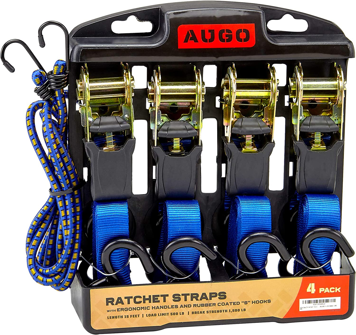 4PK Ratchet Straps
