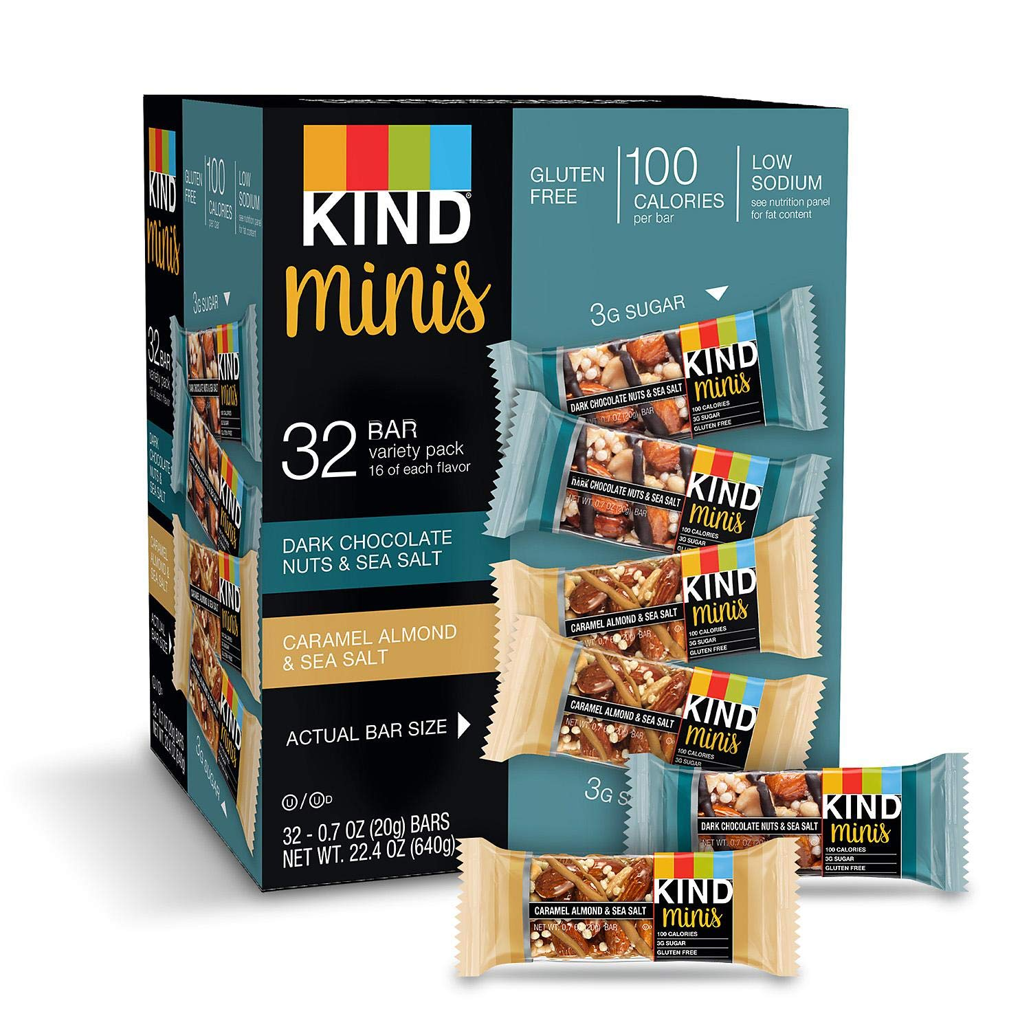 Minis Variety Pack (32 Count - 2 Pack) by KIND (Image #4)