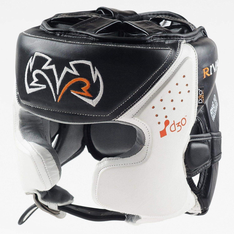 RIVAL WHITE RHG10-INTELLI-SHOCK TRAINING BOXING HEADGUARD