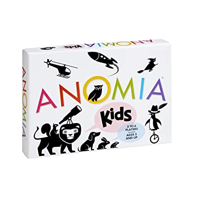 EVEREST TOYS Anomia Kids Children's Card Game: Toys & Games