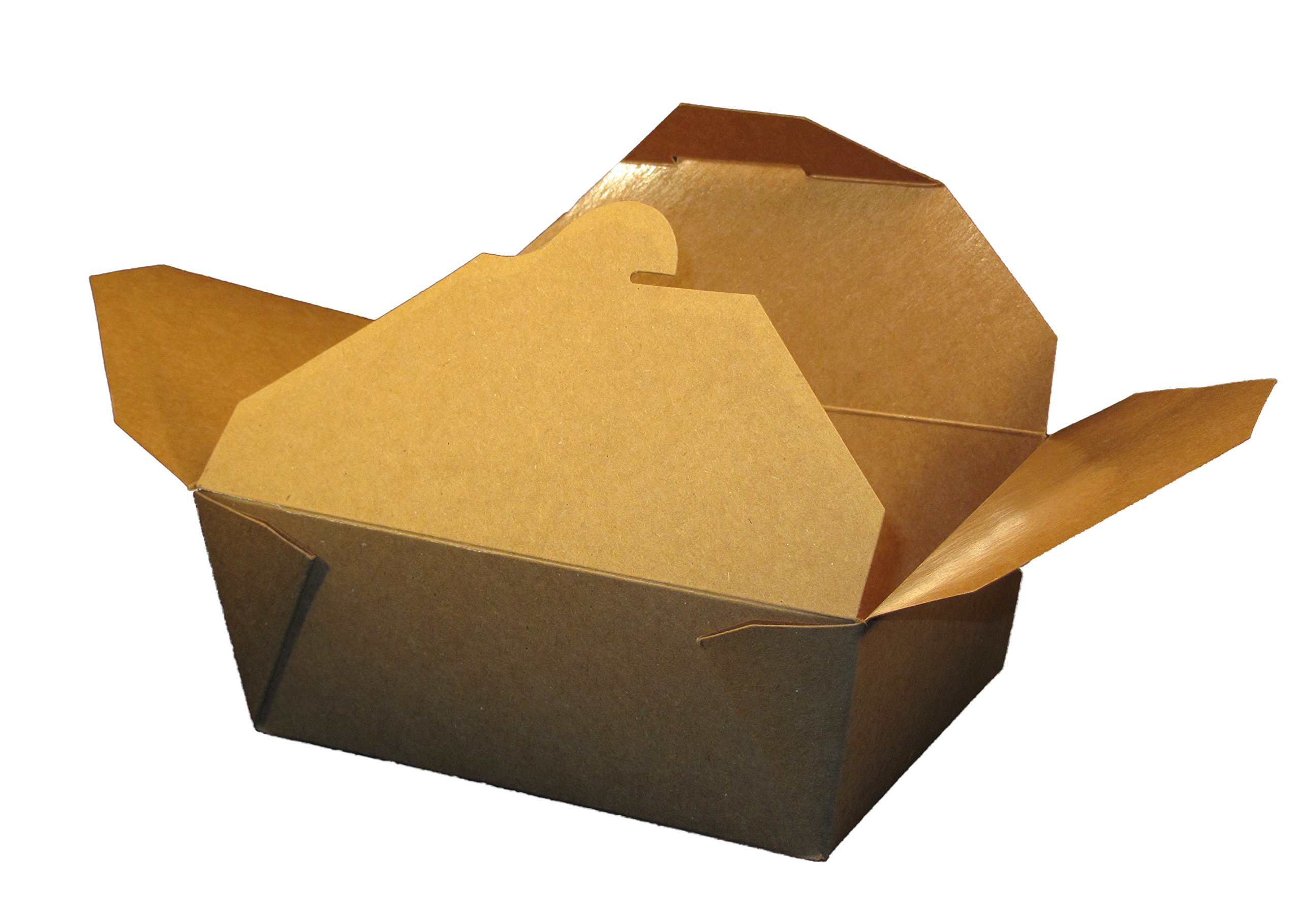 Specialty Quality Packaging 100860 Eco-Box Food Tray, 8 Kraft (Pack of 300) by Specialty Quality Packaging (Image #1)