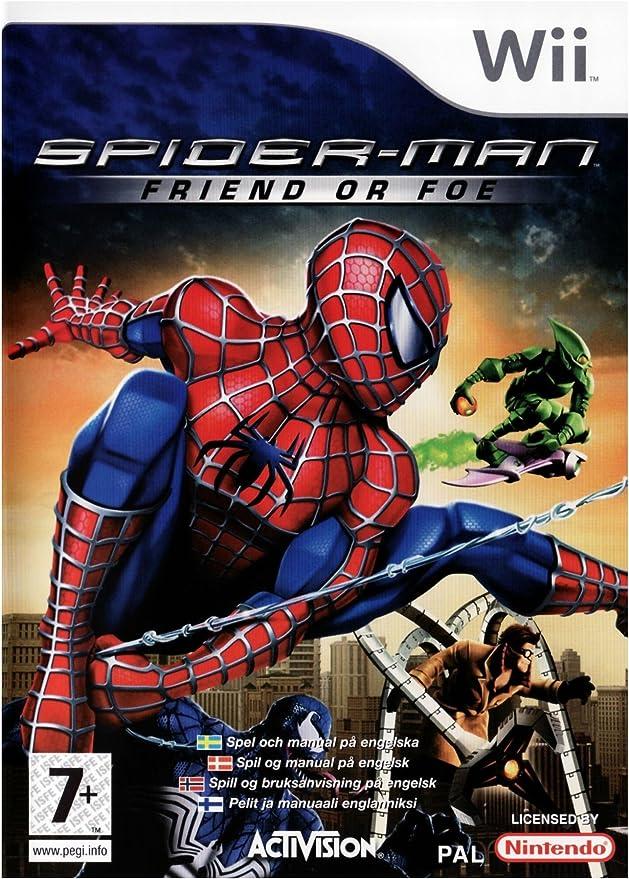 Activision Spider-man: Friend or Foe, Wii - Juego (Wii, Nintendo ...