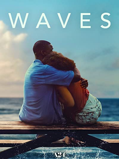 Poster of Waves 2019 Full English Free Download Watch Online In HD Movie Download 720p BluRay