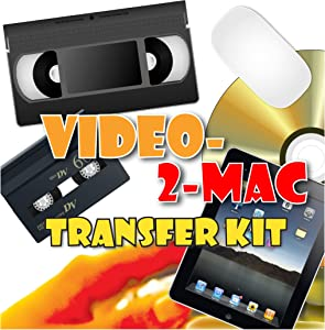 VHS & Camcorder Video Capture Kit. For MacOS. Works with Catalina, Mojave, High Sierra, Sierra and El Capitan. Links Your VCR or Camcorder to Your Apple Mac. Convert VHS, S-VHS, VHS-C, Hi8, Digital8, Video8, Mini-DV.