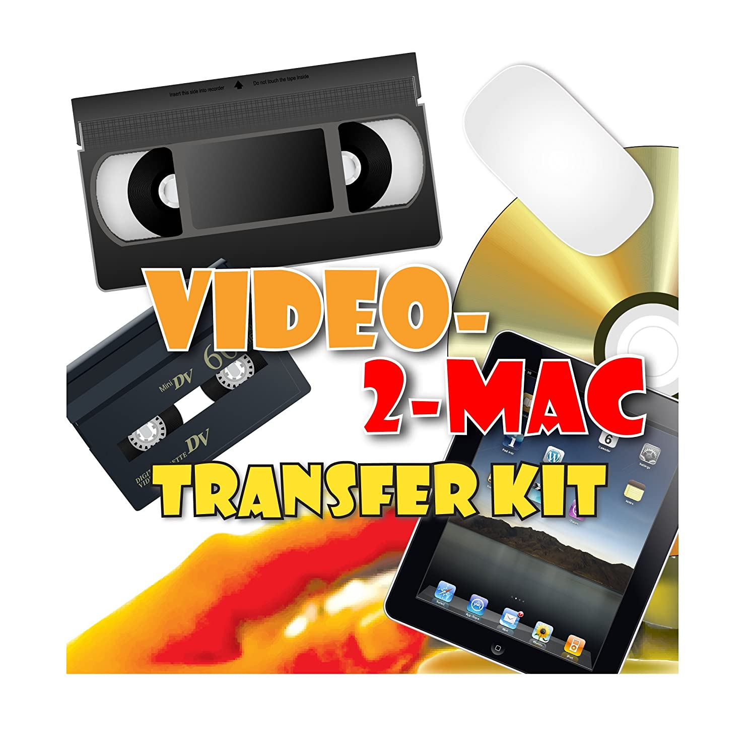 VHS and Camcorder Video Capture Kit  For Mac OSX  Works with Mojave  (10 14), High Sierra (10 13), Sierra (10 12), El Capitan (10 11), Yosemite