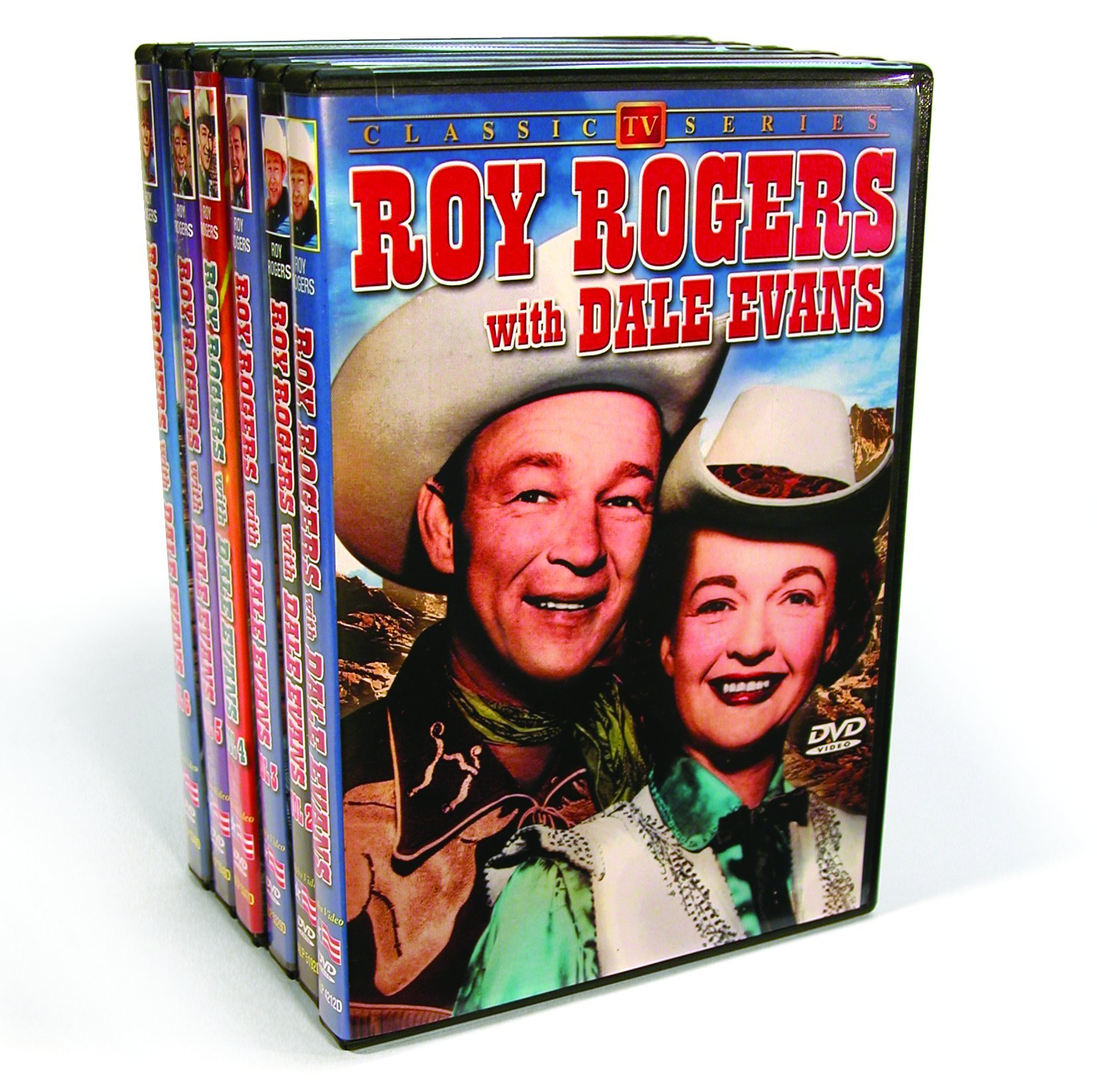 Roy Rogers With Dale Evans: Volumes 1-6 (Six-Disc)