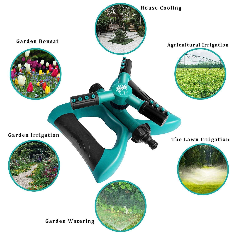 Kids Play Garden Sprinkler Premium Kit Automatic 360 Degree ...