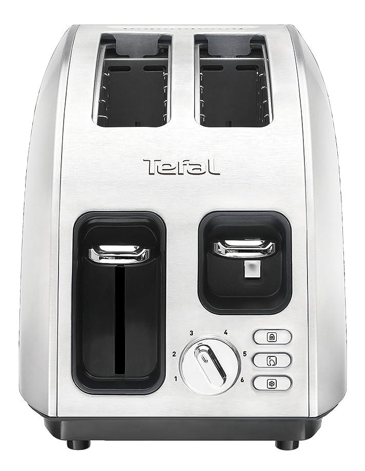 Tefal Grille pain Avanti Inox TT562E10: Amazon.fr: Cuisine & Maison