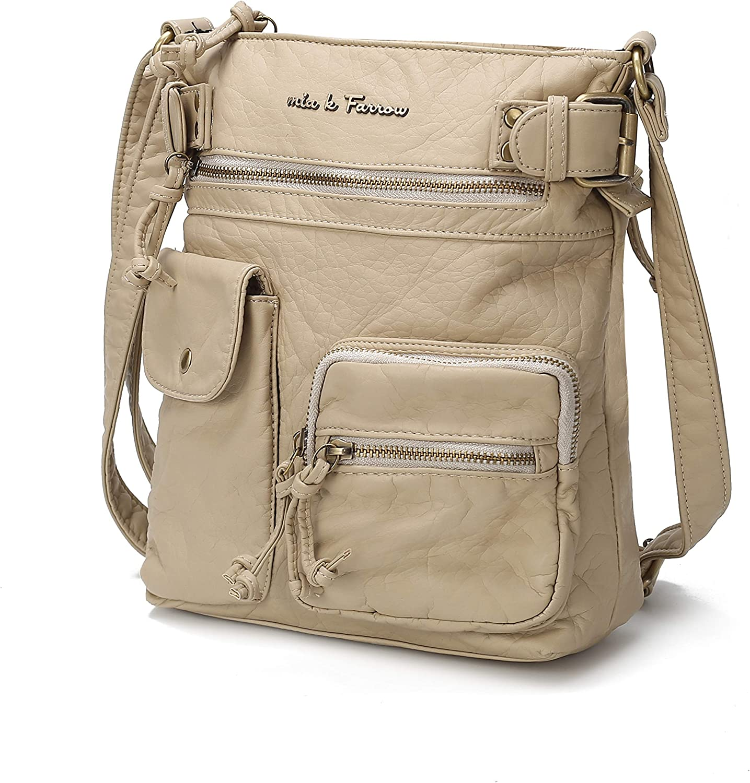 MKF Crossbody Bag : Vegan...