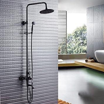 ZXY Startseite Bad Wandmontage Duschsystem, Hand- und Top ...