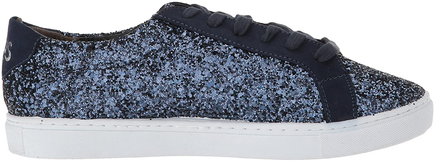 Circus by Sam Edelman Women's Vanellope-1 Sneaker B076XZNSSR 6 B(M) US|Navy/Silver