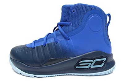 timeless design d23b5 16eb8 Amazon.com: Under Armour Curry 4 Mid (Toddler) Royal Blue: Shoes