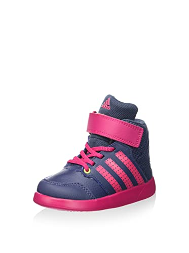 Adidas Jan BS 2 Mid I - Zapatillas Unisex, Color Gris/Rosa, Talla 27