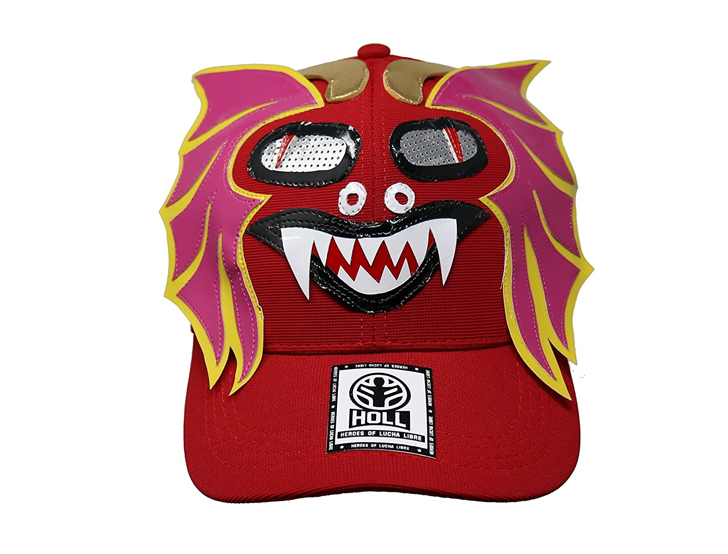 Heroes Of Lucha Libre ALEBRIJE Adult Unisex Stretch Fit Hat at Amazon Mens Clothing store: