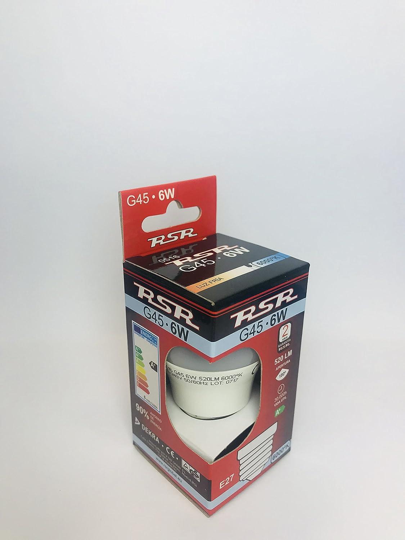 Color Blanco Hogar y Mas Escobillero WC de Metal Dise/ño de Puntos Mejor Estilo Original 9,5X9,5X35 cm.