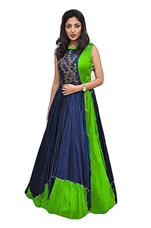 Dwarshi Fashion gowns for women party wear (lehenga choli for ...