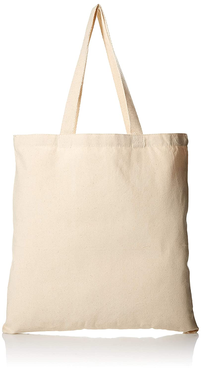 361a7c5101dd6 Amazon.com: 1 Dozen - Heavy Cotton Canvas Tote Bag (Natural) by  ToteBagFactory: Kitchen & Dining